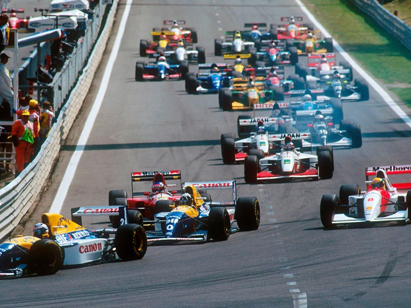 1993 Belgian Grand Prix at Spa-Francorchamps
