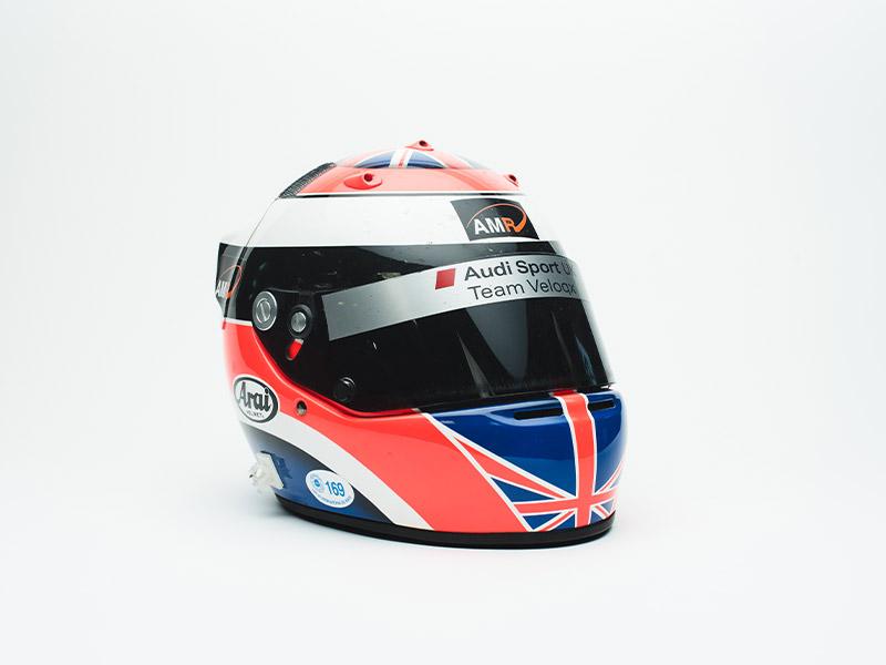 2004 Johnny Herbert Audi Le Mans Helmet