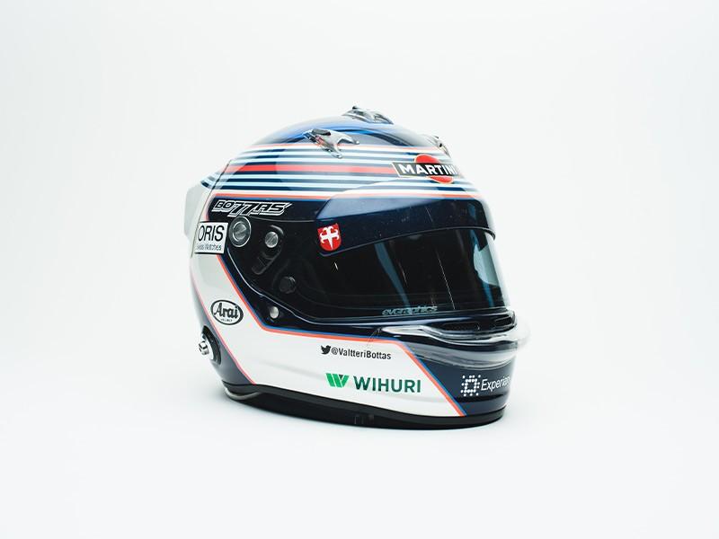 2014 Valtteri Bottas Williams helmet