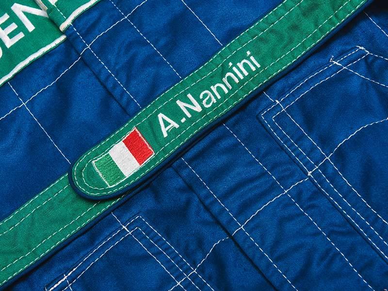 1990 Alessandro Nannini Overalls