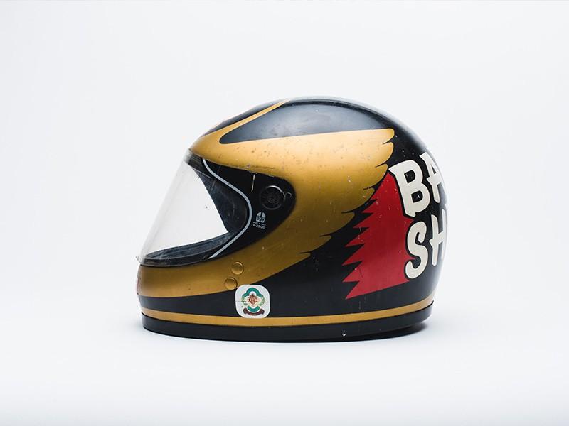 Barry Sheene 1980 AGV KR 2000 Helmet