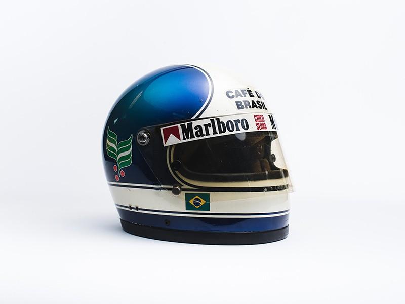 Chico Serra race used helmet