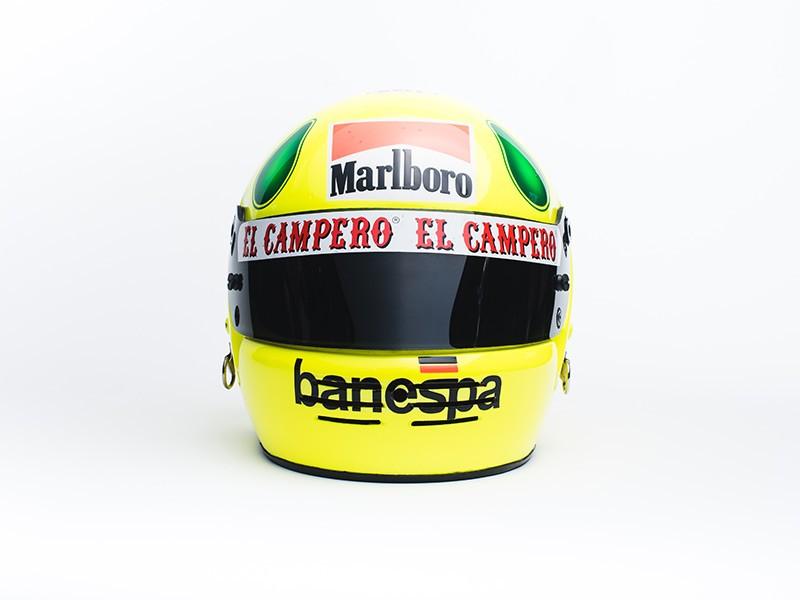 Christian Fittipaldi Minardi F1 helmet