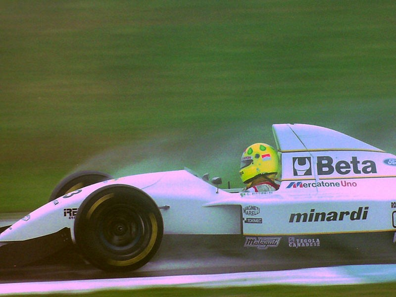 Christian Fittipaldi - Donington, 1993