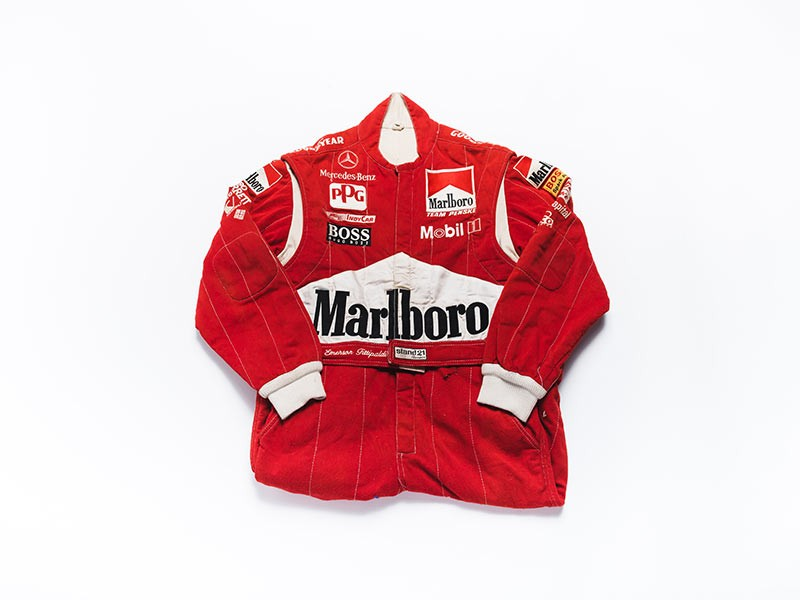 Emerson Fittipaldi 1990 Penske overalls