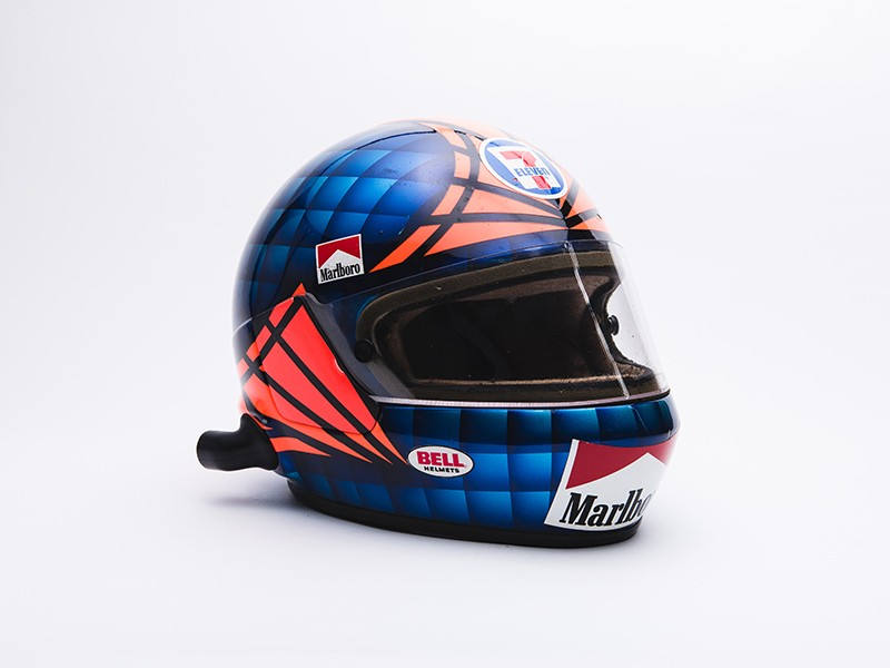 1985 Emerson Fittipaldi CART helmet