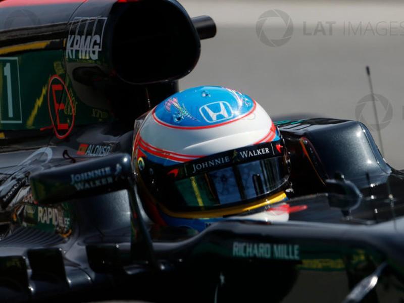 Fernando Alonso 2016 McLaren helmet