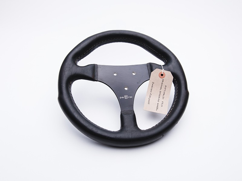 1977 Fittipaldi F5/2 Steering Wheel