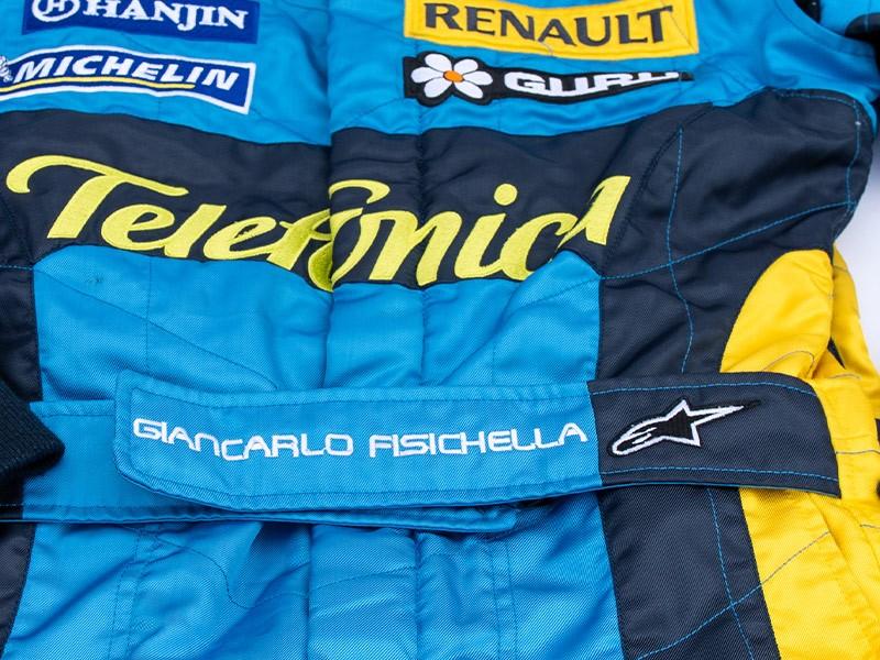 Giancarlo Fisichella Renault Race Suit