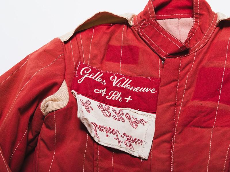 Gilles Villeneuve 1978 Scuderia Ferrari F1 overalls
