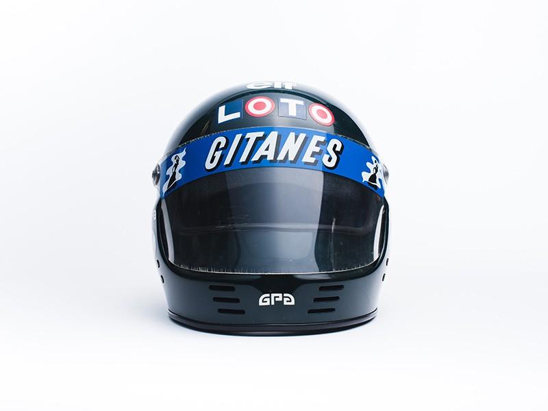 Jacques Laffite 1986 Ligier GPA helmet