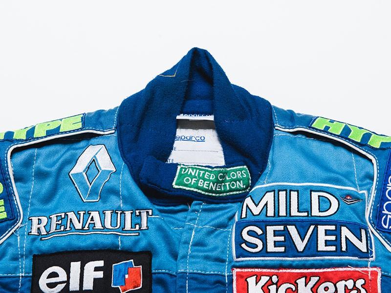 Jean Alesi 1996 Benetton F1 overalls