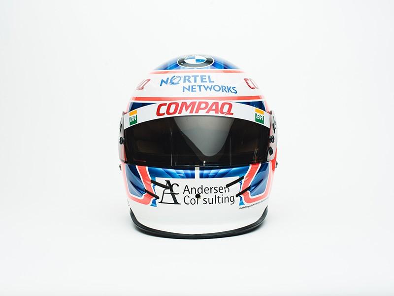 2000 Jenson Button Race Used Williams F1 Helmet