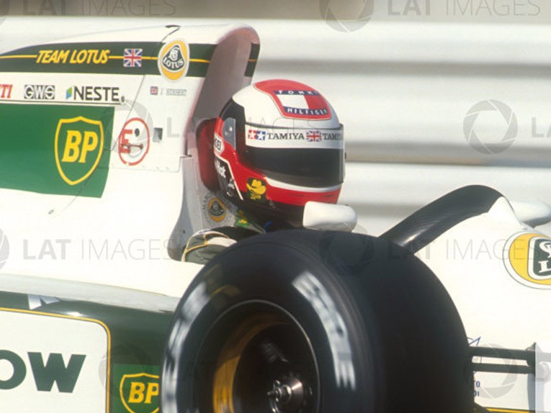 Johnny Herbert 1991 Lotus F1 Helmet