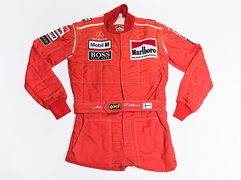 1996 Mika Hakkinen McLaren Overalls