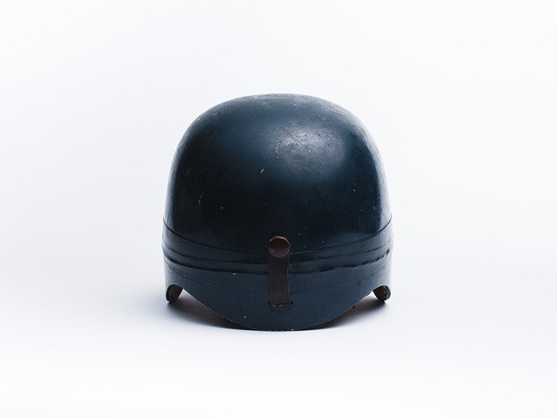 1958 Race Used Mike Hawthorn helmet
