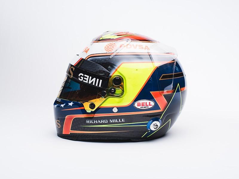 2015 Pastor Maldonado signed F1 helmet