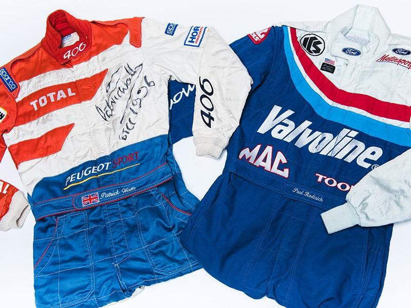 Paul Radisich 1995 BTCC Overalls