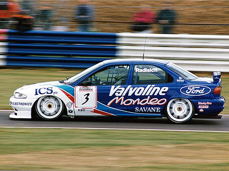 Paul Radisich in BTCC 1995