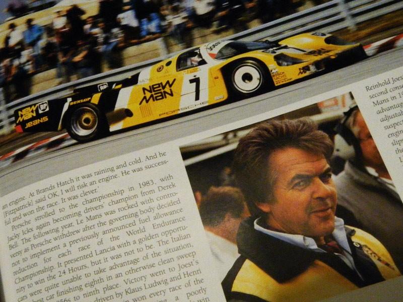Porsche in Motorsport by Peter Morgan (multi-signed)
