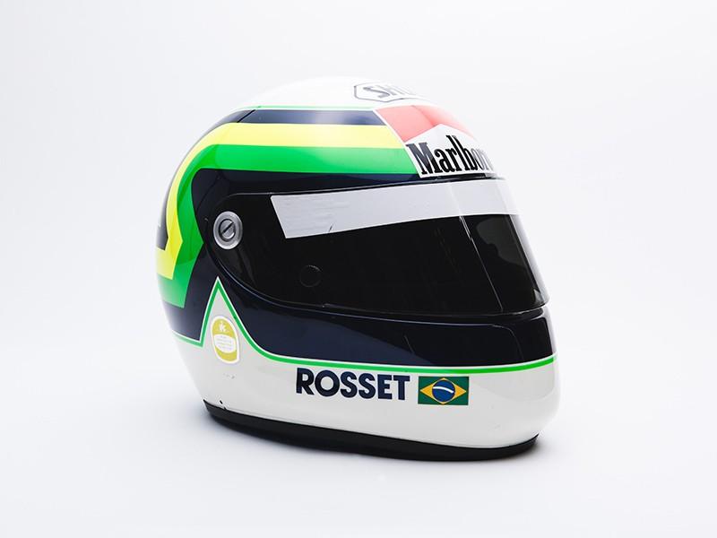 Ricardo Rosset race used helmet