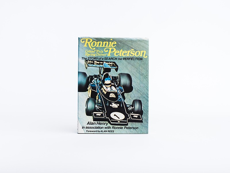 Ronnie Peterson book by Alan Henry (signed)