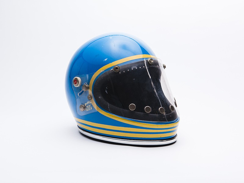 1974/5 Ronnie Peterson Griffin Clubman helmet