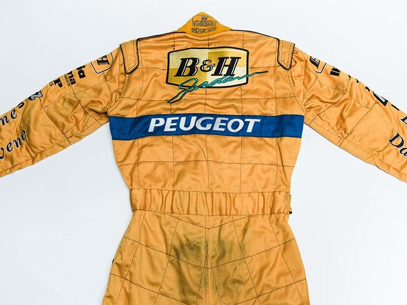 1996 Rubens Barrichello Jordan Overalls