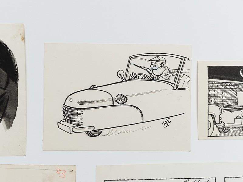 Russell Brockbank cartoons