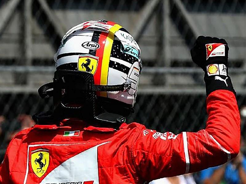 Sebastian Vettel in 2017