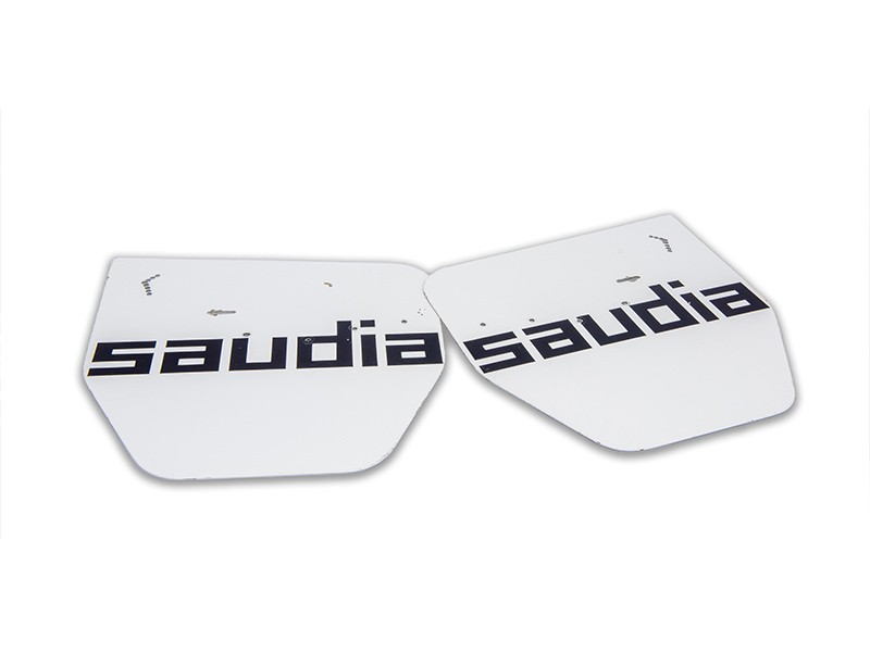 Williams FW07 rear wing end plates